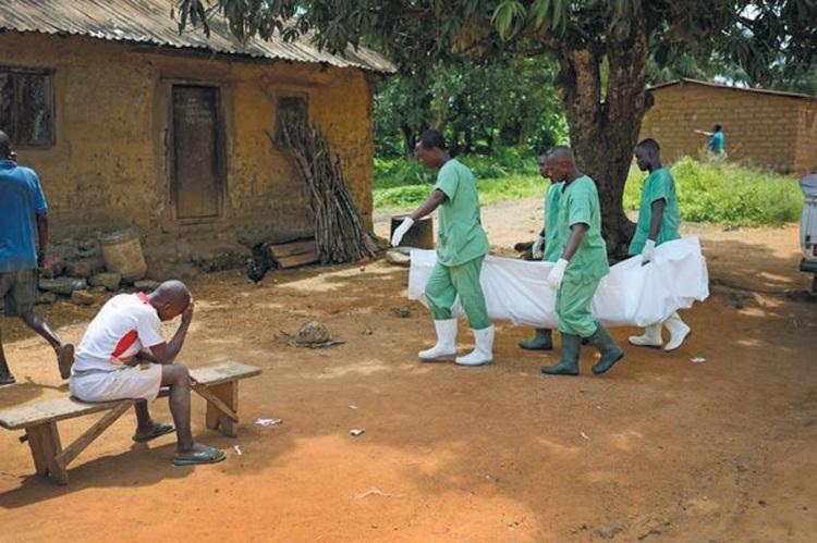 ebola corpse