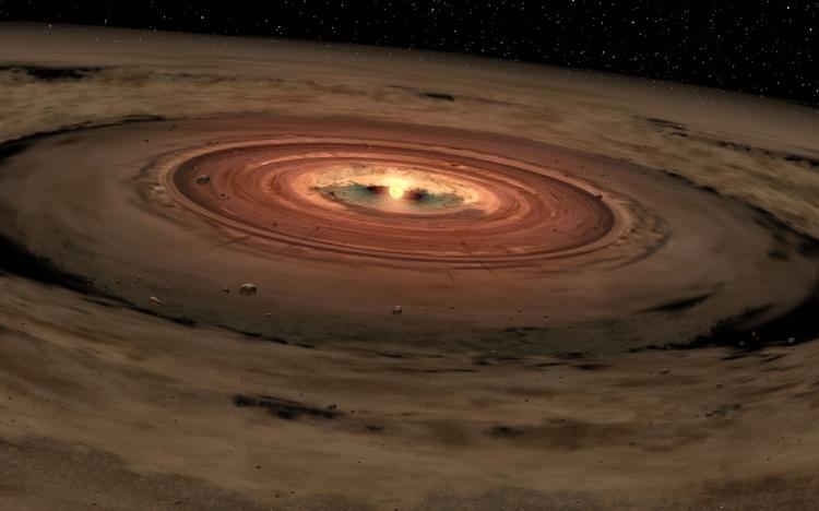 Disco-protoplanetario-stelle