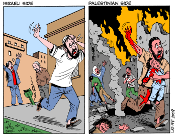 Israeli Palestinian Perspectives of rocket attacks