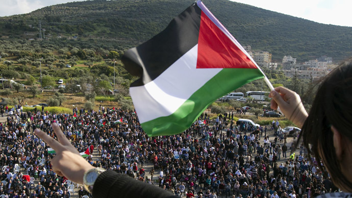 Palestinian State supporter