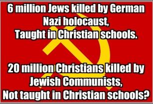 Jewish communism meme
